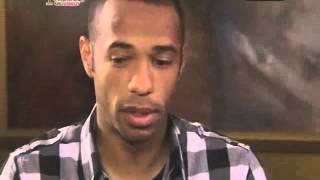 Thierry Henry interview post World Cup 2010 (in french)