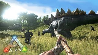 ARK: Survival Evolved - TAMING DINOSAURS!! (ARK Ragnarok Gameplay)