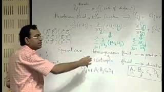 Mod-01 Lec-28 Dynamics Of Viscous Flows : Navier Stokes Equation