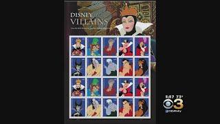 USPS Unveils Disney Villain Forever Stamps