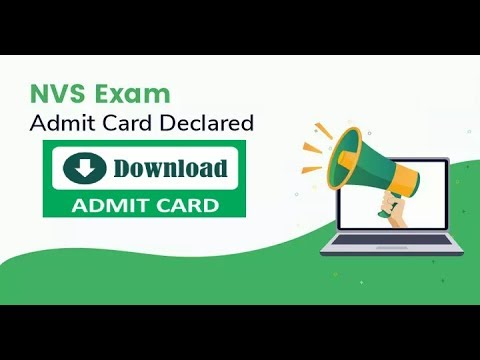 NVS Admit Card 2019 Download
