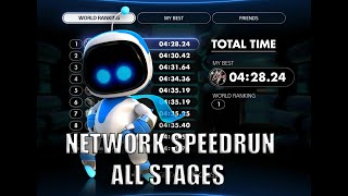 Astro's Playroom Network Speedrun All Stages (WORLD RECORD)