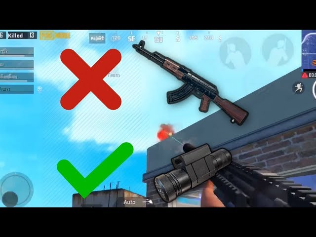 I don't use AKM anymore | PUBG Mobile