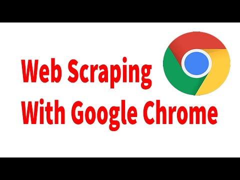 Web Scraping with Chrome Extensions | Part -2 - YouTube
