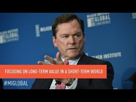 Institutional Investors: Focusing on Long-Term Value in a Short-Term World