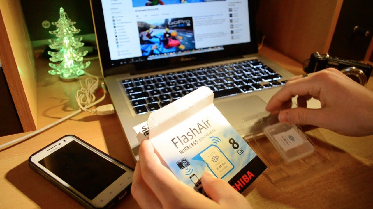Unboxing + Testing: FlashAir TOSHIBA Wi-fi SD card