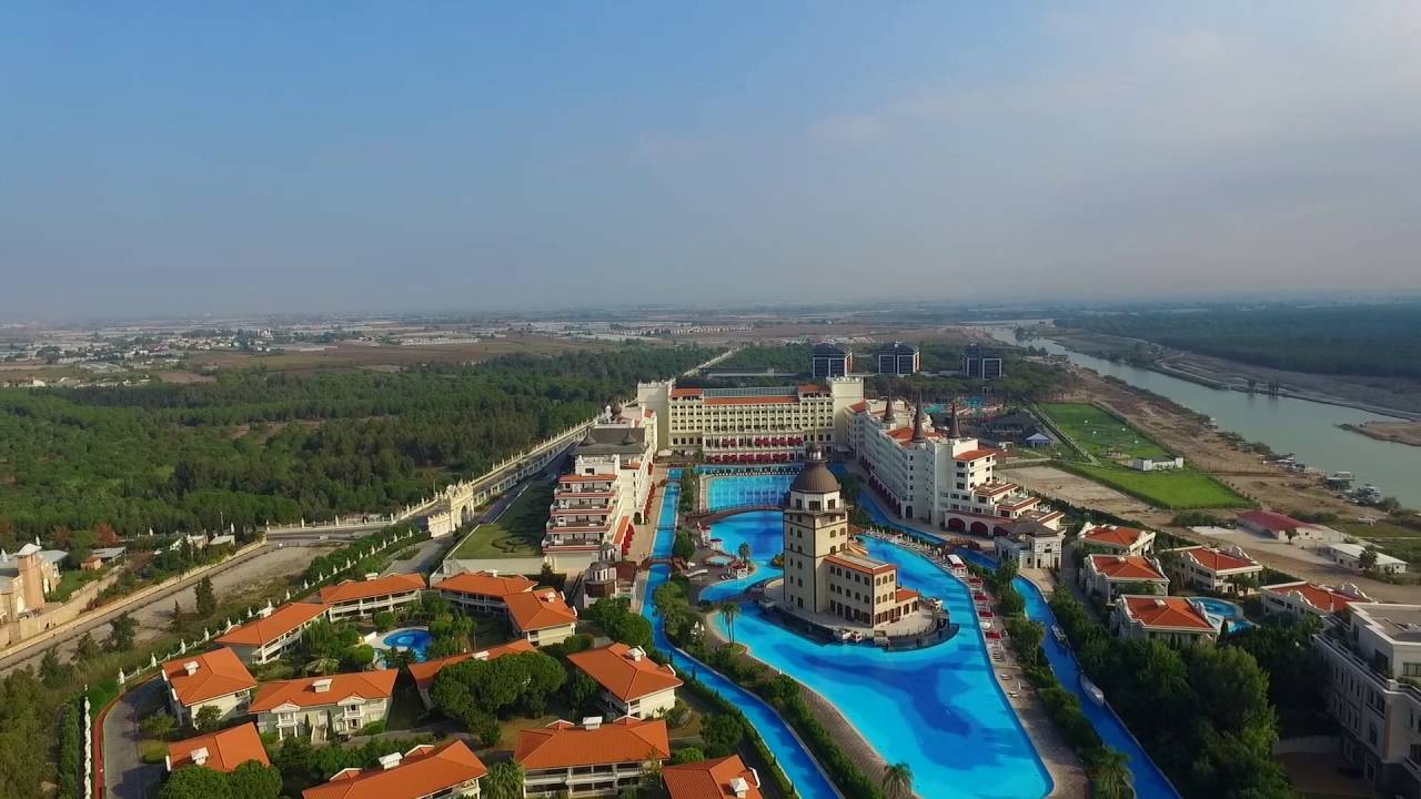 Drone Over Antalya Turkey Mardan Palace Hotel