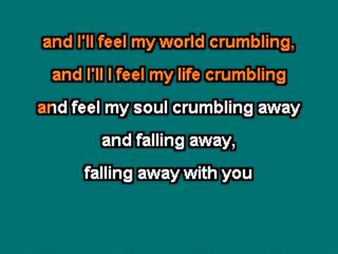 Muse - Falling Away With You Karaoke custom made with lyrics