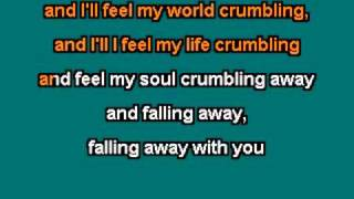 Muse - Falling Away With You Karaoke custom made with lyrics