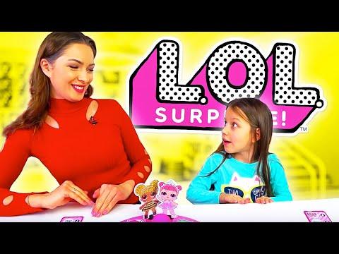 LOL CHALLENGE Лол Челлендж Кто Первый Оденет Куклу LOL Surprise Dolls Board Game /// Вики Шоуиз YouTube · Длительность: 29 мин7 с