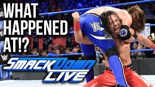 WHAT HAPPENED AT: WWE Smackdown Live (24th April)