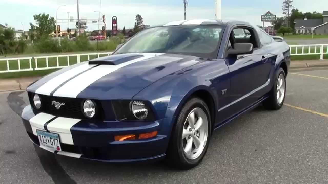 2008 ford mustang gt premium 1u150103b youtube