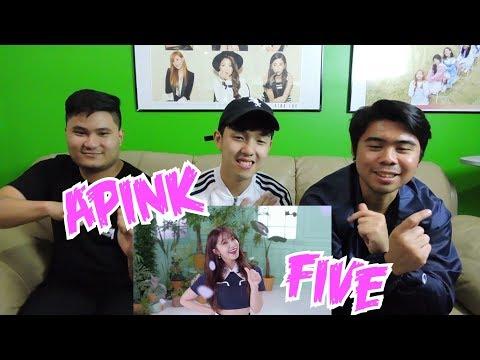 Apink (에이핑크) - FIVE MV REACTION (FUNNY FANBOYS)
