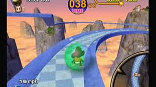 Super Monkey Ball Gameplay (Game Cube)