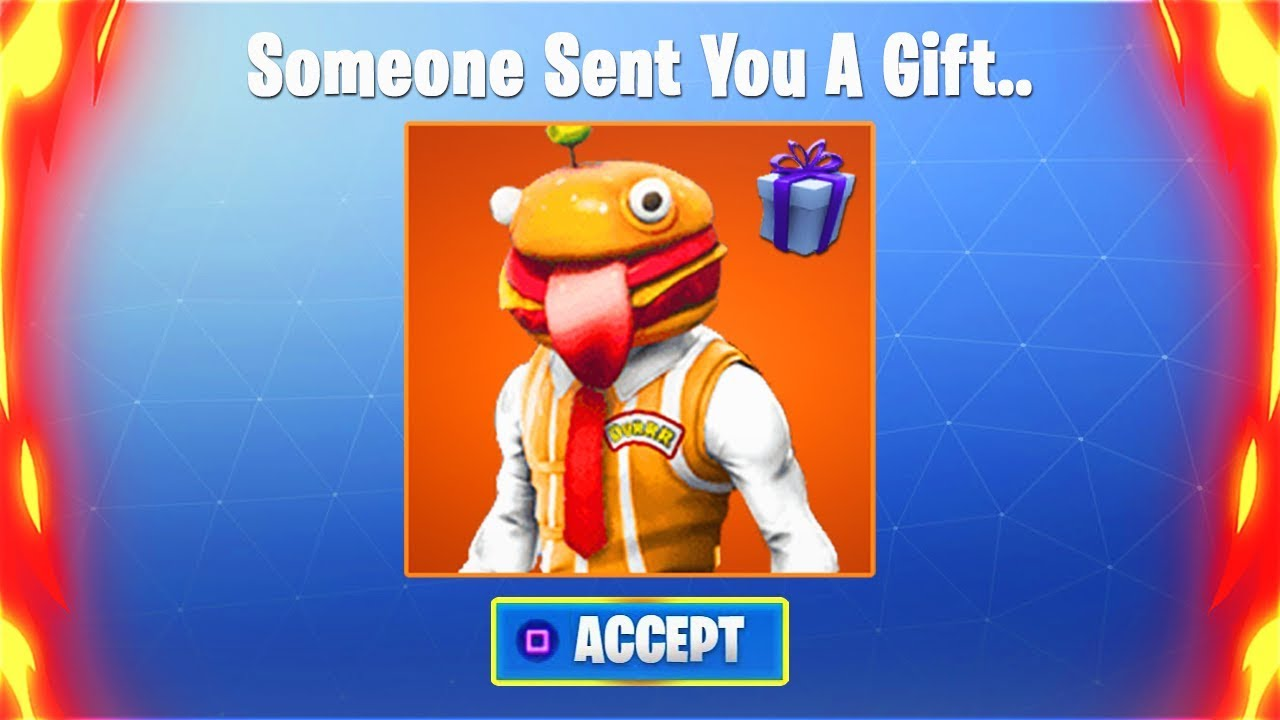 SENDING GIFTS In Fortnite Battle Royale.. (How To Gift ...