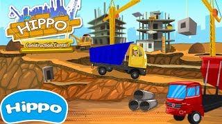 Гиппо 🌼 Строительный центр 🌼 Строительные машины Все серии 🌼 Мультик игра для детей