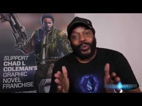 Come meet Chad L Coleman at Forbidden Planet Sat July 25th!