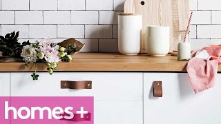 Diy Project: Faux Leather Drawer Handles & Pulls - Homes+