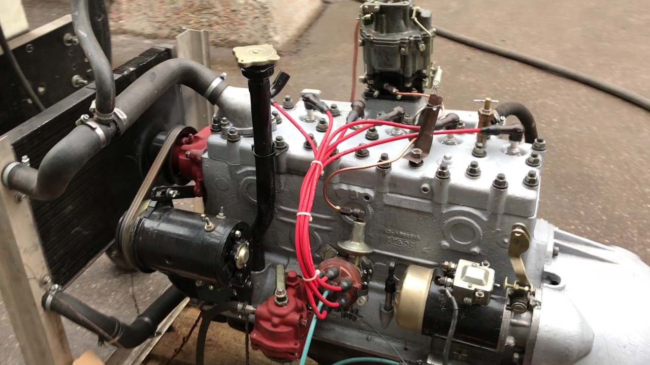 Двигатель   ГАЗ-12