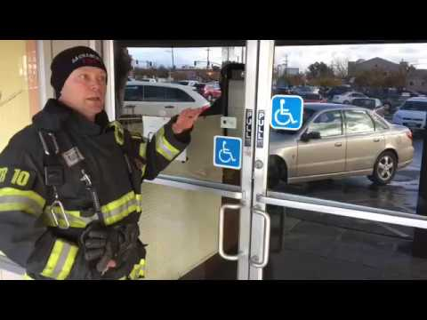 Forcible Entry for Glass Commercial Doors