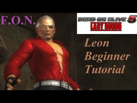 Leon Beginner Guide Tutorial (DOA5LR)
