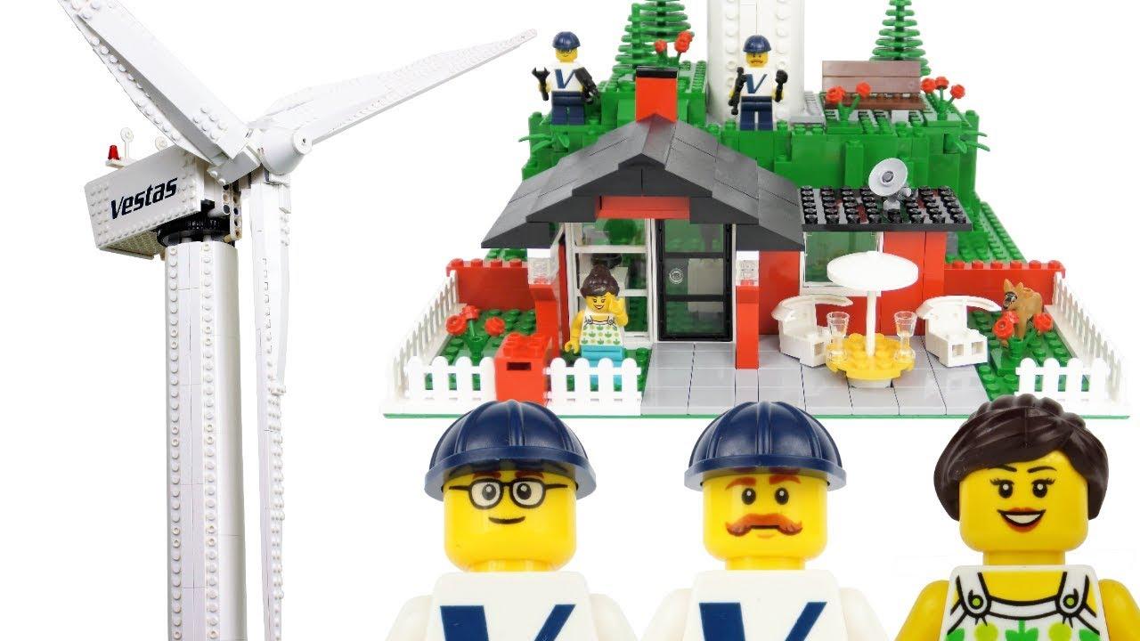*HUGE* LEGO Vestas Wind Turbine 10268 Unboxing and Review!