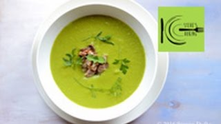 Smoky Green Pea Soup with Pork Hock I stevescooking