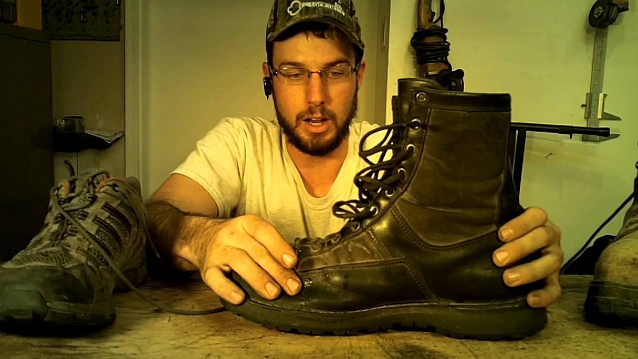 Danner, Wolverine, Cabella's, Work Boot Review - YouTube