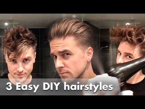 5 Most Common Hairstyling Mistakes Men Make Healthy Hair Tips For