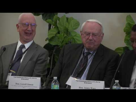 The Honorable Ronald M. Whyte Symposium: Former Federal Judges