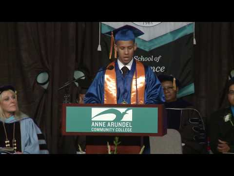 AACC Commencement 2017 Valedictorian Address