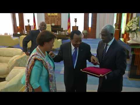 Visite officielle au Cameroun de la Très Honorable Patricia Scotland QC, SG du Commonwealth