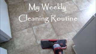My Weekly Cleaning Rouтine (DITL Style) | How I Clean My Small Home