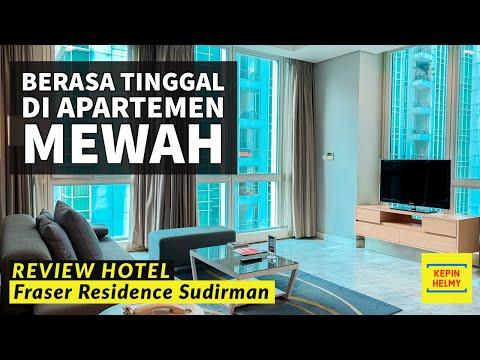 HOTEL APARTEMEN MEWAH DI JAKARTA PUSAT - Review Fraser Residence Sudirmann