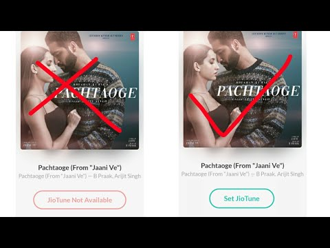 """Download Lagu  Pachtaoge From """"jaani ve"""" Jio tune not available problem solve pachtaoge song arijit singh Mp3 Free"""