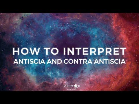 How to interpret Antiscia and contra Antiscia