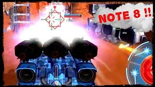 Fury zeus gameplay on my (Note 8)