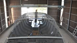 Graham Radford 460 Pilothouse Steel Sailboat Building 3