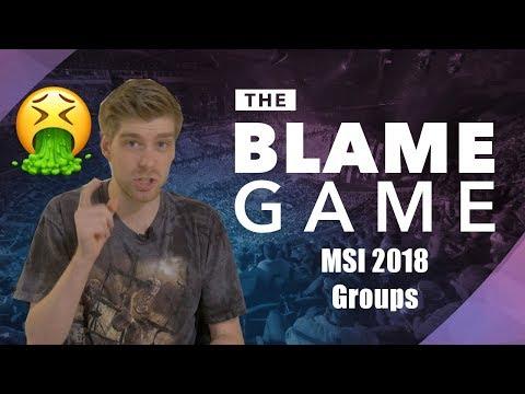 The Blame Game | MSI 2018: Team Liquid, Olleh, & Anxiety