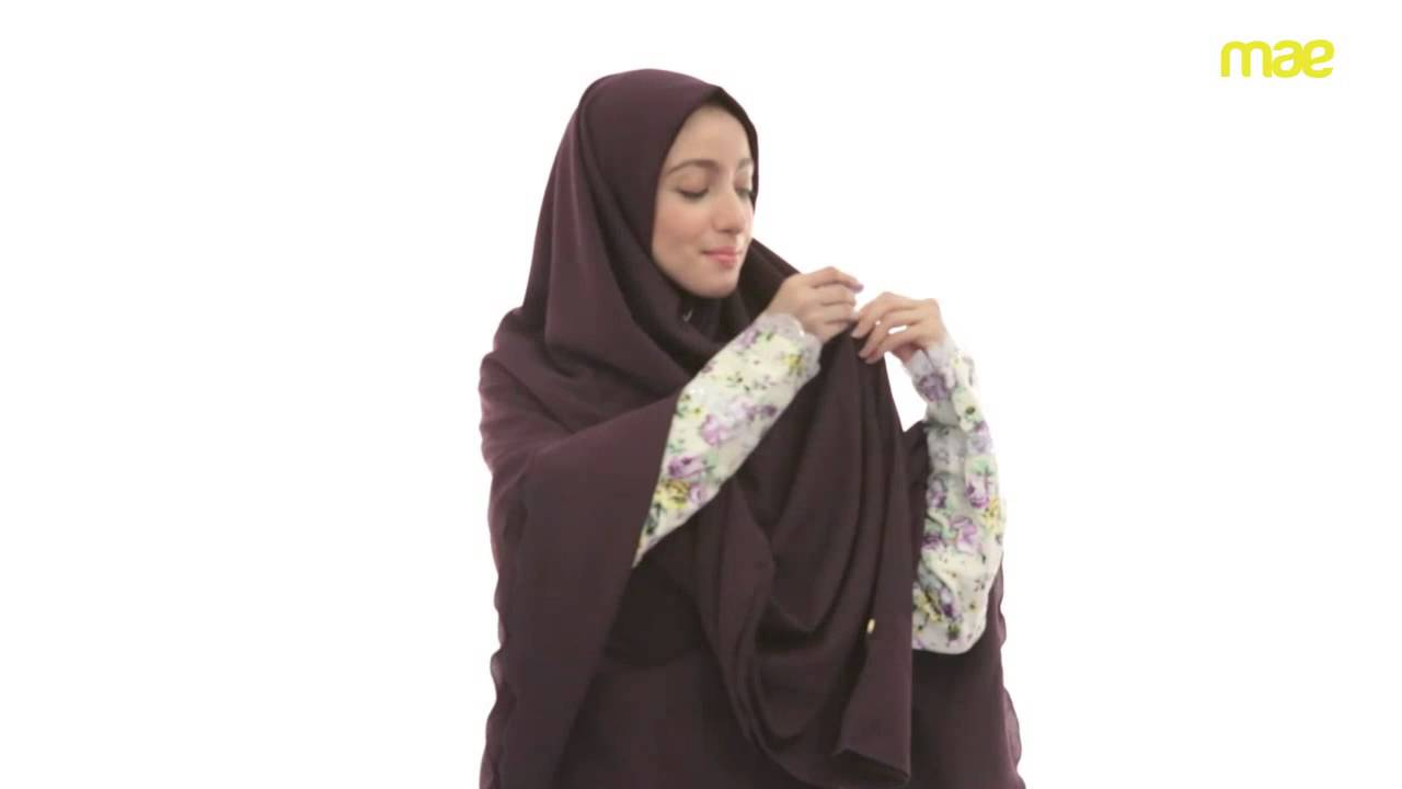 Tutorial Hijab Syari YouTube