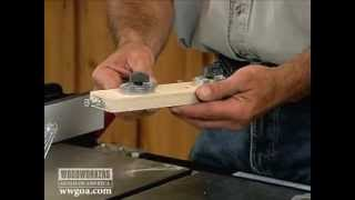 Table Saw Jig For Narrow Rips