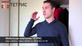 видео встроенный шкаф-купе в в Санкт-Петербурге