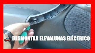 Desmontar elevalunas eléctrico