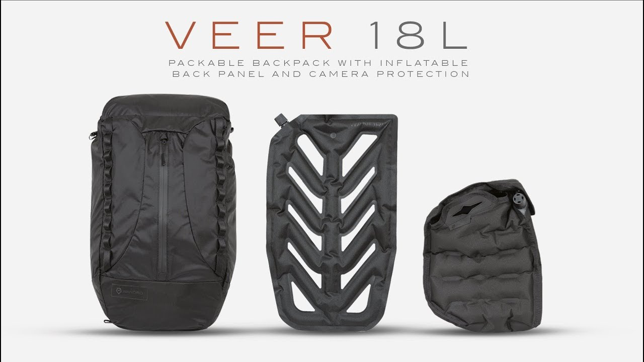 9bb209b4c94d7 The VEER 18 is a packable bag with inflatable camera protection that s  currently on Kickstarter  Digital Photography Review
