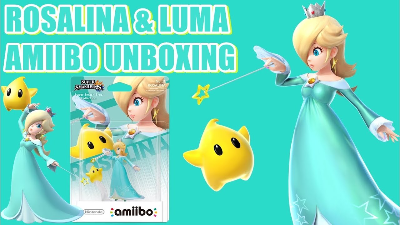 Rosalina & Luma Amiibo Unboxing - YouTube