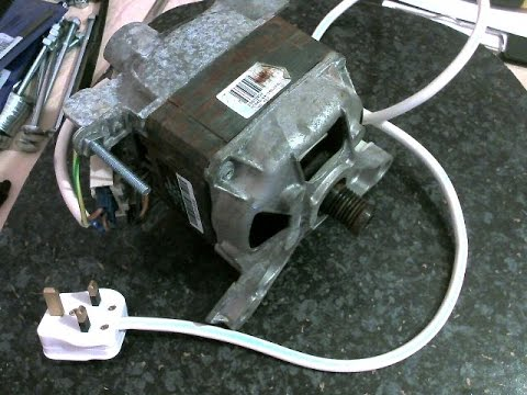 hqdefault how to wire up a washing machine motor youtube washing machine motor wiring diagram at crackthecode.co
