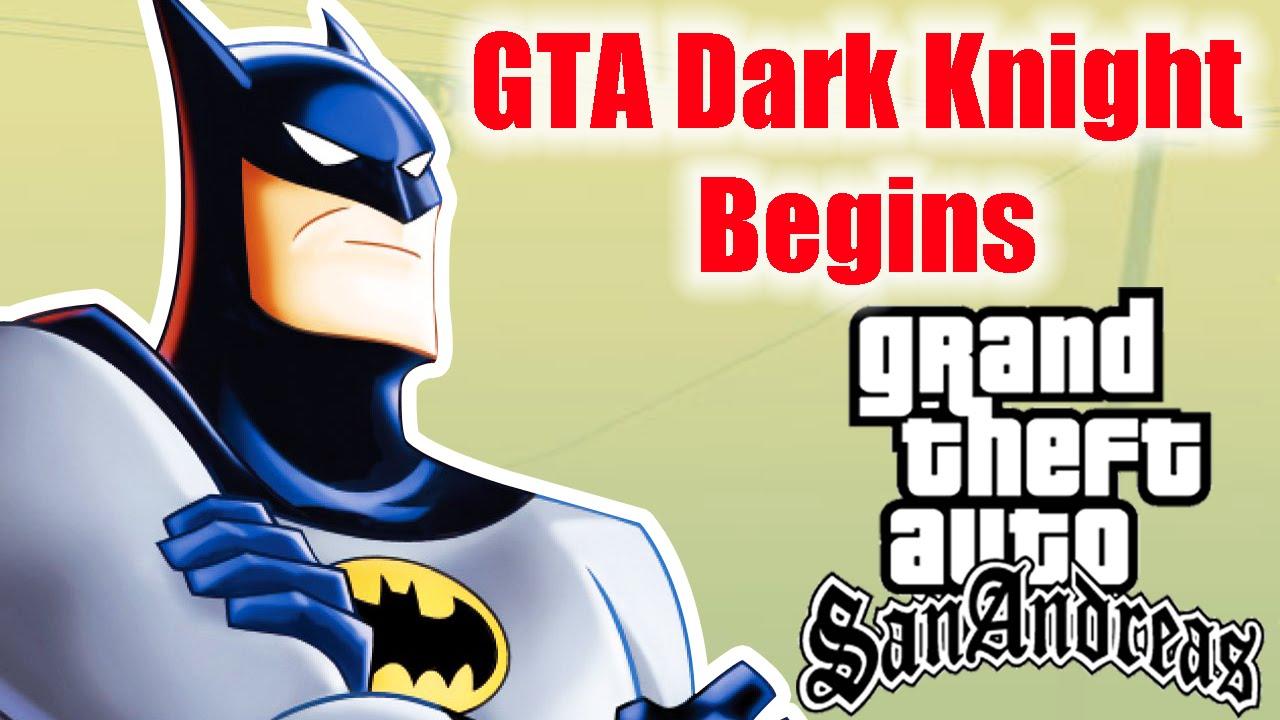 download batman mod for gta san andreas pc