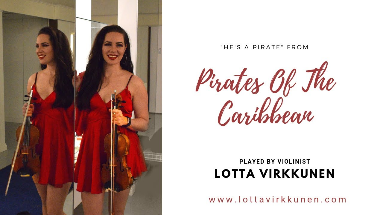 He's A Pirate // Lotta Virkkunen, Violin cover // Pirate's Of The Caribbean