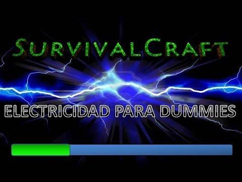 survivalcraft mapas electricidad para dummies 1
