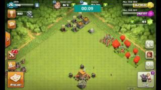 Começando uma vila Minimax no Clash of Clans